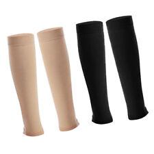 4x Compression Socks Calf Sleeve Footless Varicose Veins Stockings Anti-fatigue