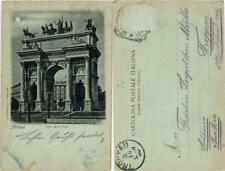 CPA MILANO Arco della Pace . ITALY (533107)