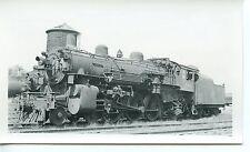 6E935 RP 1955 C&NW NORTH WESTERN RAILWAY ENGINE #596 KENOSHA WI