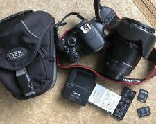 Canon Bundle EOS Rebel T2i 550D Digital SLR Camera HD Video Lens Bag Extras