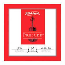 D'Addario Prelude Violin String Set 1/2 Scale Medium Tension - J810 1/2m