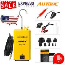 Hot Autool SDT-106 Automotive Diagnostic Smoke Leak Detector For Car Motorcycle