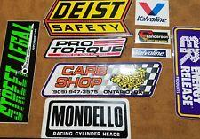 Vintage Auto Parts & Racing Stickers (#36)