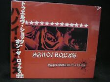 HANOI ROCKS Twelve Shots On The Rocks + 1 JAPAN CD Cherry Bombz 69 Eyes Glam HR