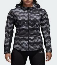 Adidas Women Adizero Track Hoodie Training Fitness Top Jacket Size Large CE0330