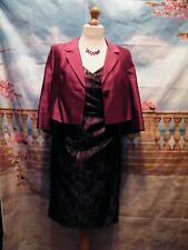 Alexon Dress and Jacket & Handbag size 12 Occasion Races Wedding Guest Cruise