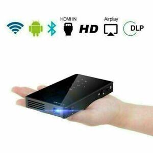 WiFi 4K HD Full HD 1080P DLP Projector Mini Home Cinema Bluetooth SD/USB/HDMI