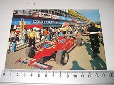 Gilles Villeneuve_postcard_cartolina_imola 1981_timbro 100 anni nasc. E.Ferrari