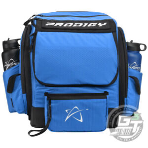 USED Prodigy Discs BP-1 V3 Backpack Disc Golf Bag Holds 20+ Discs - BLUE