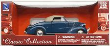 NewRay - 1938 Chevrolet Master Cabrio dunkelblau/beige 1:32 / Spur 1 Neu/OVP