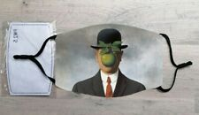 The Son of Man face mask (René Magritte)