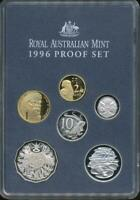 Australia, 1996 Uncirculated Proof set of 6 coins