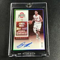 D'ANGELO RUSSELL 2015 PANINI CONTENDERS #112 DRAFT TICKET AUTO ROOKIE RC #'D /99