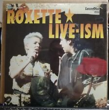 LASER DISC - ROXETTE - LIVE -ISM - SIGILLATO - PIONEER 1992 EMI