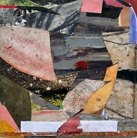 """""""Be Speckled"""" Small Abstract Collage Painting - Steven Tannenbaum (Original Art)"""