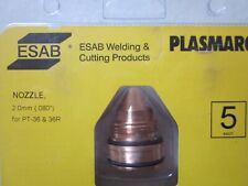 ESAB Plasmarc Plasmadüsen Nozzle 2,0mm for PT-36 & 36R 5 Stück