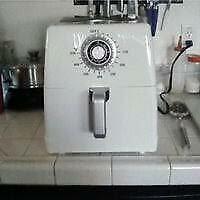 Paula Deen 1700W 8.5 qt Ceramic Nonstick XXL Air Fryer - White