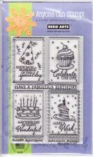 BIRTHDAY FRAMES - Hero Arts Poly Clear Stamp Set