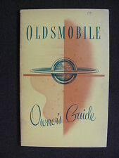 Oldsmobile - 1951 Owner's Guide - US-Betriebsanleitung / operation manual 1951