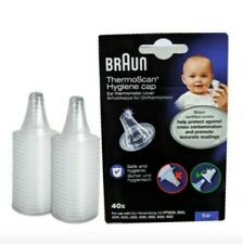 NEW Braun  Pack of 40 Covers  for Ear ThermoScan  Lens Filters Probe