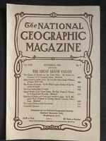 (REPRINT!) National Geographic Magazine September 1906 Vol. XVIII No.9 Death Val