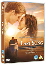 DVD:THE LAST SONG - NEW Region 2 UK
