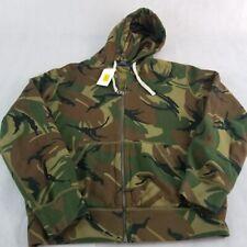 New Polo Ralph Lauren Sweetshirt Camo Camouflage Fleece Hooded M XL XXL Jacket