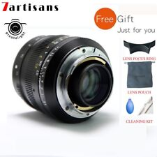 7artisans 50mm F1.1 Fixed Camera Lens for Leica M-Mount Cameras M240 M3 M5 M6 M7
