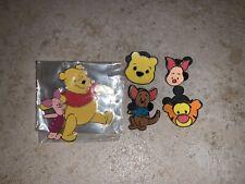 Disney Winnie The Pooh Pins Lot Of Five 5 Pin Tigger Piglet Roo Chibi Cute New