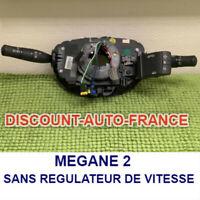 Commodo Megane  2  commodo contacteur tournant  sans regulateur de vitesse