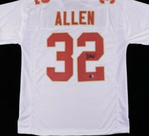 Marcus Allen Signed Jersey (Beckett Hologram)Kansas City Chiefs