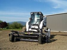 "Skid Steer Soil Conditioner Harley Rake 84"" - Fixed Angle"