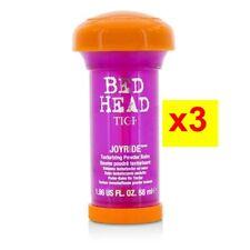 Bed Head Joyride Texturizing Powder Balm Hair Care 58ml x3pcs