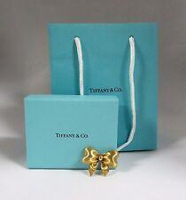 Vintage Tiffany & Co 750 18K Yellow Gold Bow Pin Brooch