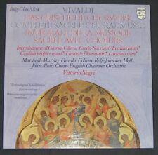 VIVALDI Complete Sacred Choral Music  Vittorio Negri  Philips  2 lp Box