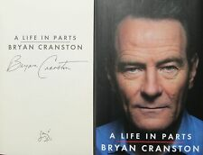 Signed Book - A Life in Parts by Bryan Cranston Breaking Bad