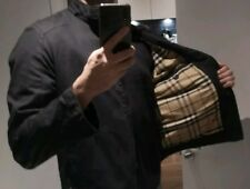 Rare Black Vintage Burberry Jacket Large