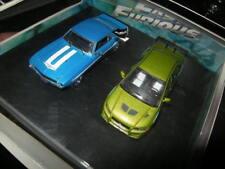 1:43 Greenlight Fast & Furious SET Mitsubishi Lancer + Camaro OVP