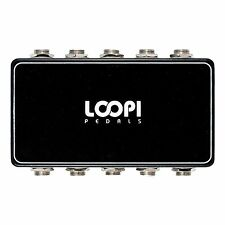 Stereo Guitar Pedal Pedalboard Patchbox - 5in/5out - Loopi Pedals
