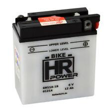 Motorradbatterie 6V 12Ah 01214 6N11A-1B/3A inkl. Säurepack *NEU*