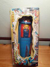 Superman Classic Rocket Tin Toy Friction Motor by Schylling 2001 NIB ✌💚