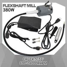 380W SR FOREDOM Hanging Flexshaft Mill Motor Jewelry Design&Repair Tool Kits 2mm
