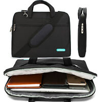 """15.6"""" Laptop Notebook Shoulder Bag Briefcase Computer Case For Samsung HP Dell"""