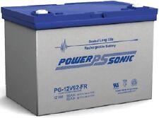 Power-Sonic PG-12V92FR 12 Volt/92 Amp Sealed Lead Acid Battery