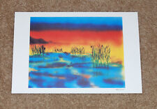 Jerry Garcia Art Print Wetlands I Lithograph Poster #884/1000 Grateful Dead