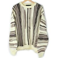 Vintage Protege Collection 3D Sweater Biggie Cosby Textured Coogie Style Like