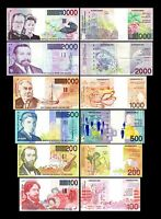 2x  100 - 10.000 Francs - Edition ND 1994 - 2001 - Reproduction - B 01