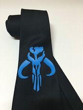 Mandalorian Skull Symbol, Star Wars Necktie, New