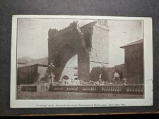 1906 SAN FRANCISCO EARTHQUAKE Postal History Cover STANFORD UNIVERSITY ARCH