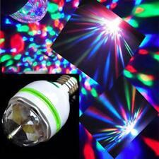 3W E27 RGB-Kristallkugel, die LED-Stadiums-Glühlampen-Disco-Partei-Birnen-Lampe